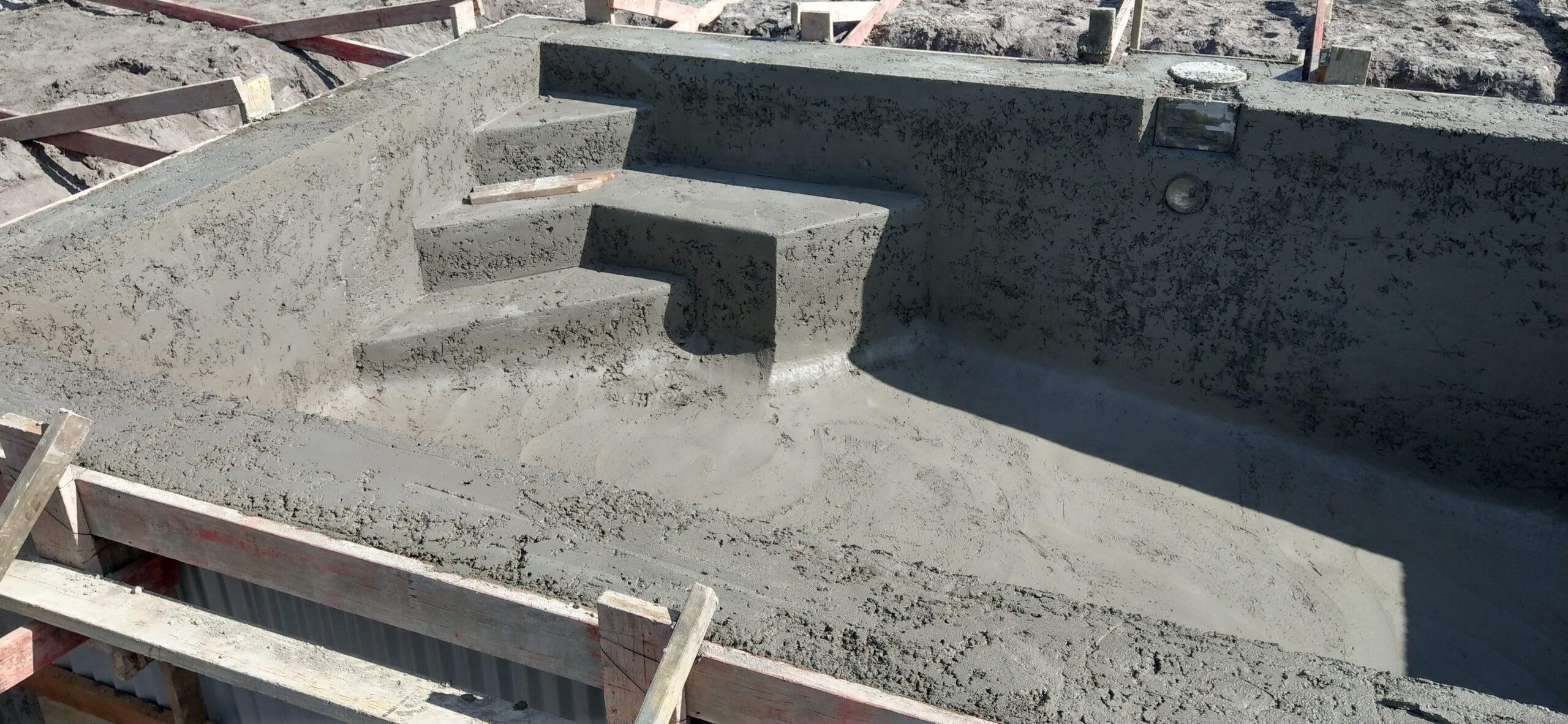 Pool spray by SPS Concrete
